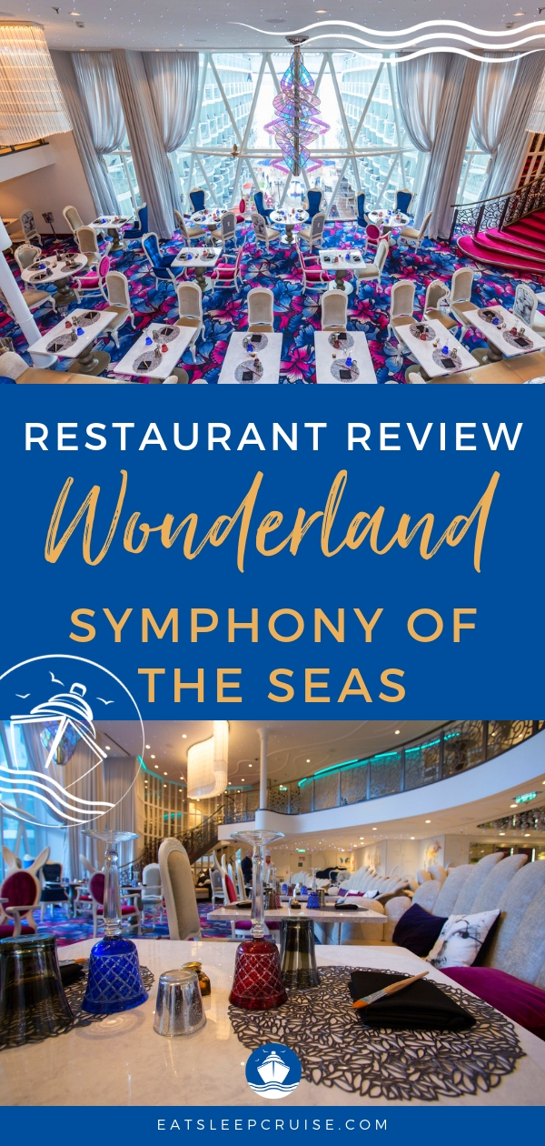 Symphony of the Seas Wonderland Review