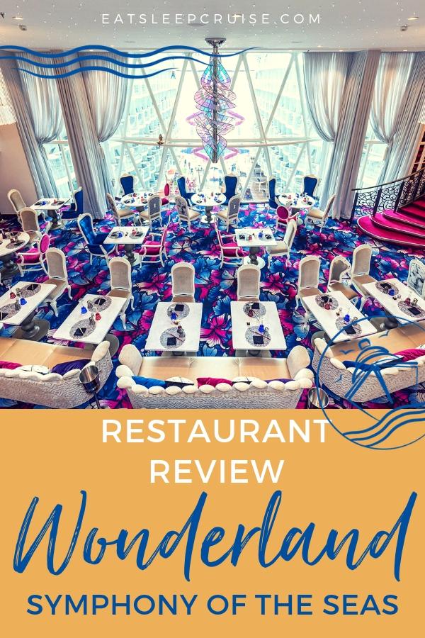 Symphony of the Seas Wonderland Review