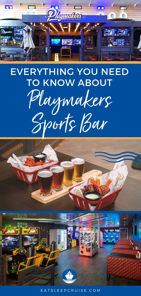 Playmakers Sports Bar and Arcade on Symphony of the Seas