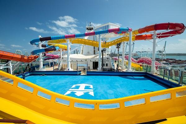 Amplified Navigator of the Seas Pool Deck