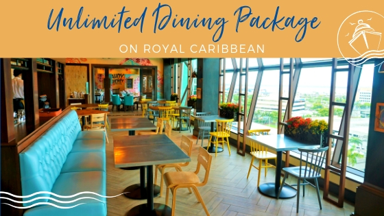 NEW: Royal Caribbean's Unlimited Dining Package