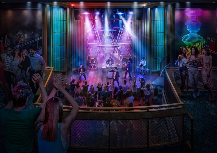 Music Hall on oasis of the seas