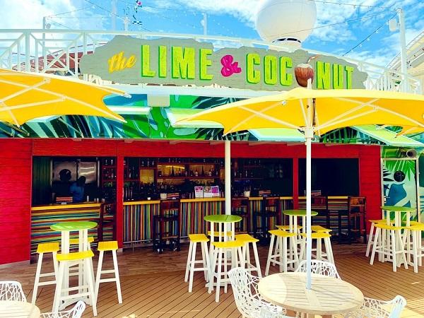 Lime and Coconut Bar Navigator