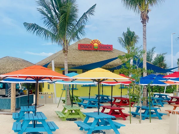 Snack Shack at Perfect day at CocoCay