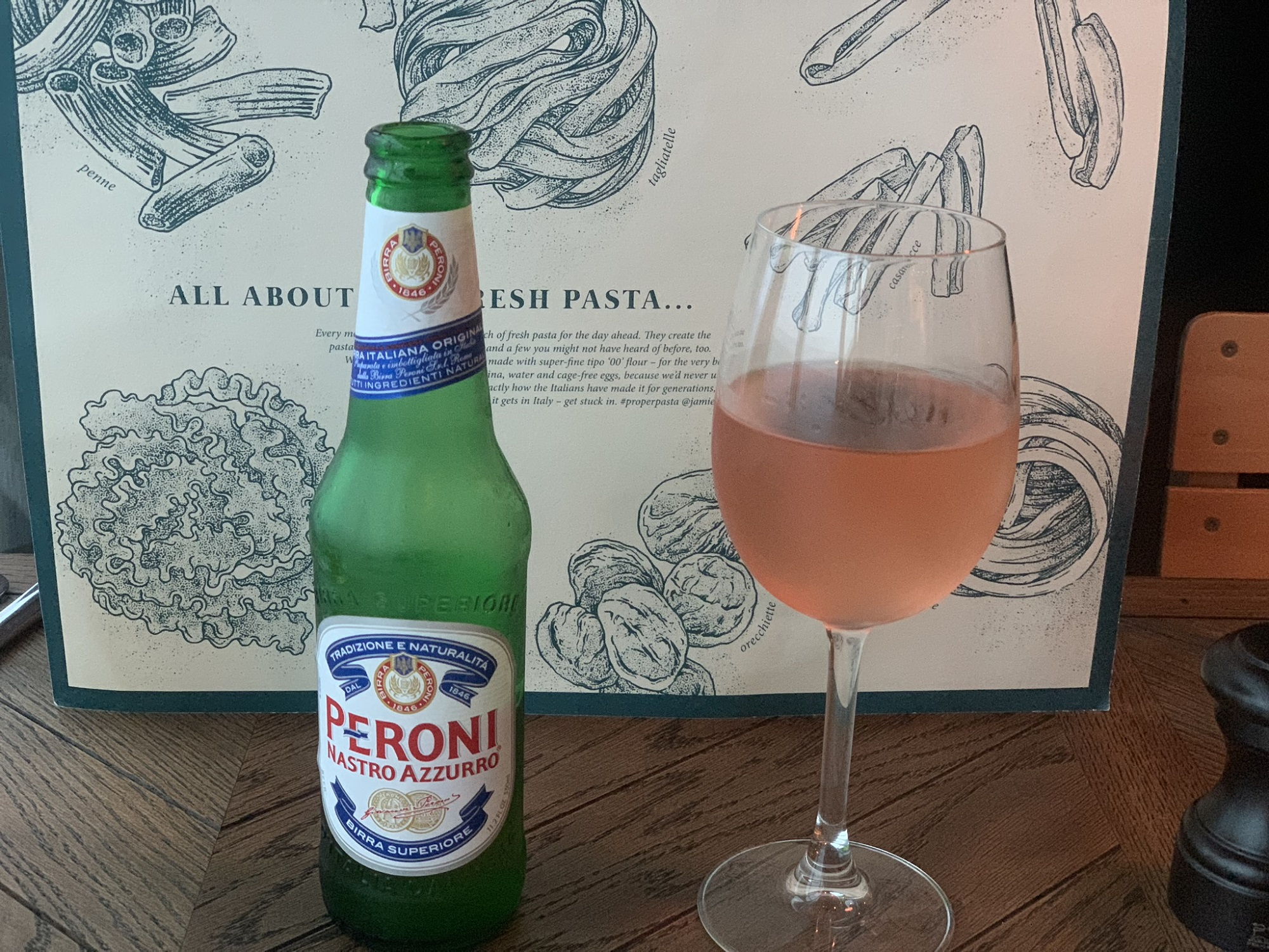 Drinks at Jamie's Italian on Navigator of the Seas