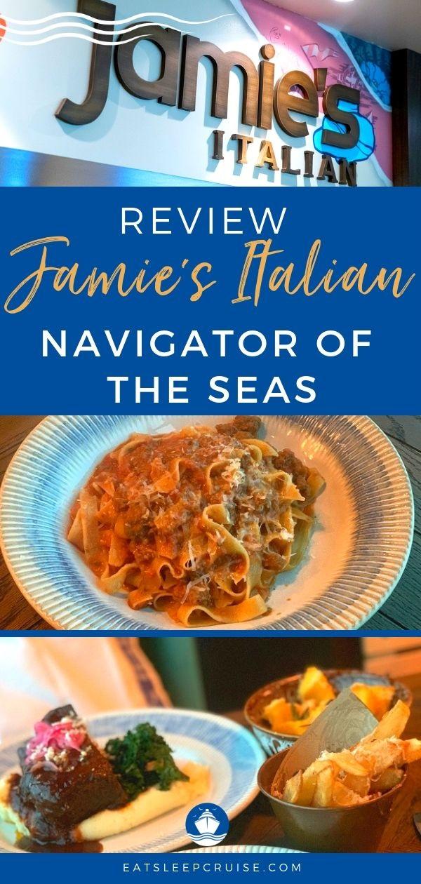 Jamie's Italian on Navigator of the Seas
