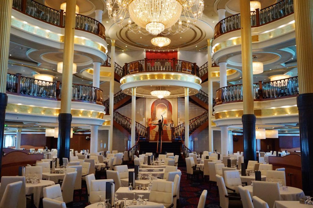 Main Dining Room on Navigator of the Seas