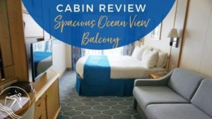 Navigator of the Seas Spacious Ocean View Balcony Review