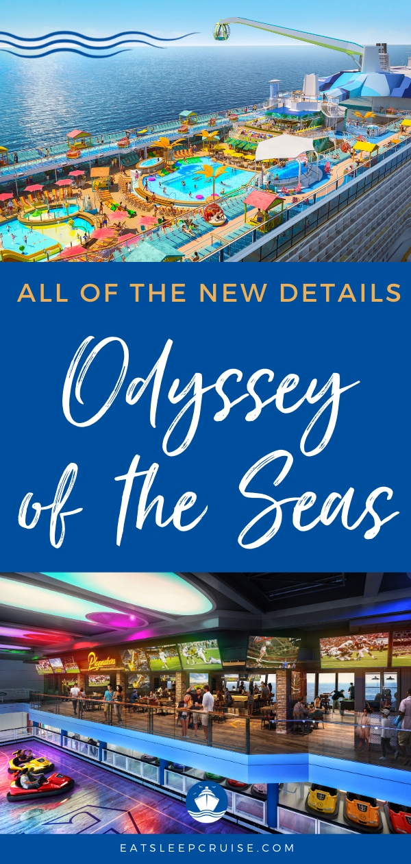 All the New Details on Odyssey of the Seas