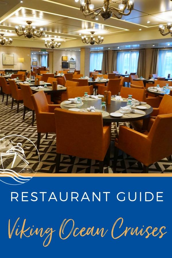restaurant guide viking ocean cruises