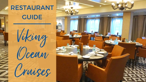 restaurant guide viking ocean cruises