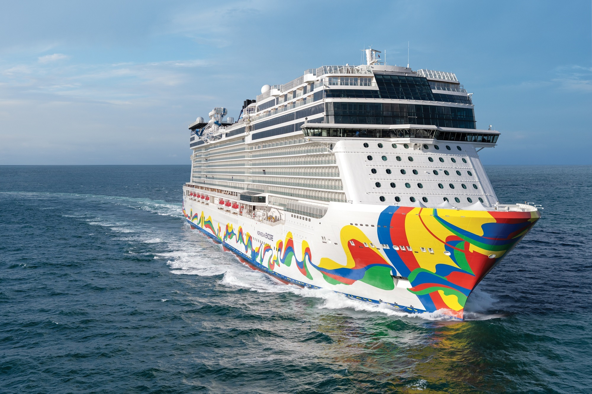 Excited to Sail on Norwegian Encore