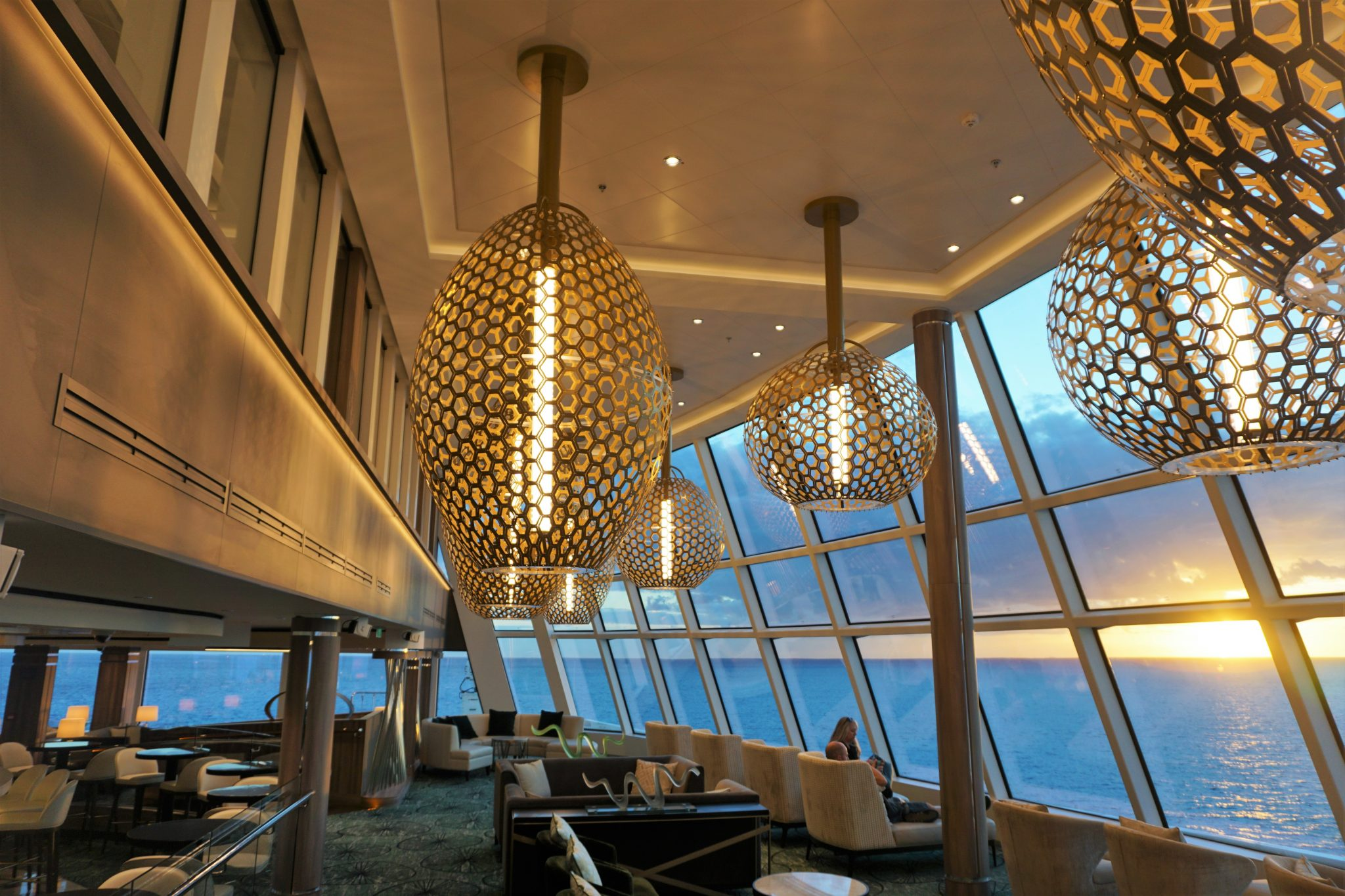 Observation Lounge on Norwegian Encore