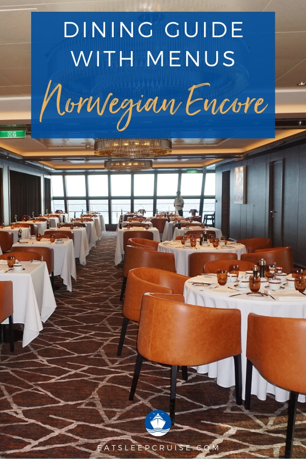 Restaurants on Norwegian Encore