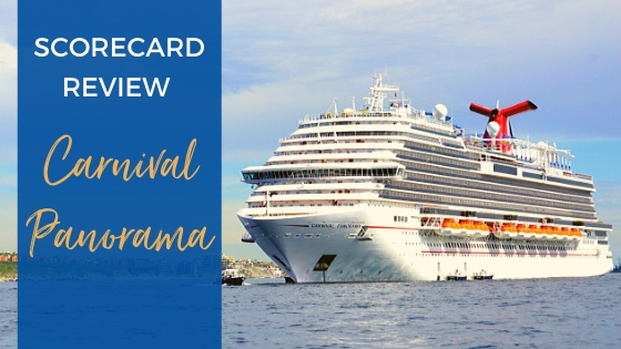 Carnival Panorama Ship Scorecard