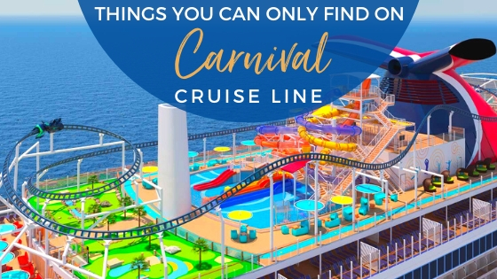 Exclusive Features on Carnival Cruise Line