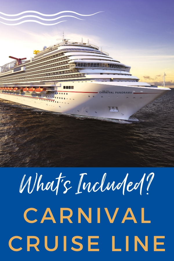 What's Included Carnival Cruise Line