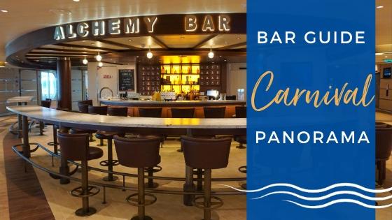 Carnival Panorama Bar Guide With Menus