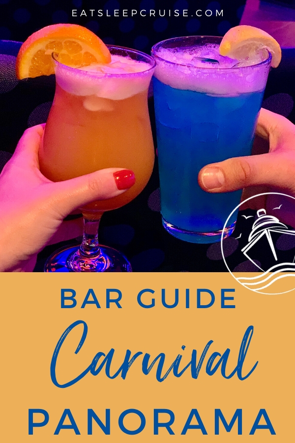 Carnival Panorama Bar Guide