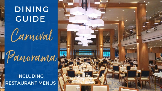 Carnival Panorama Dining Guide