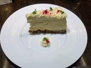Cheesecake at Fahrenheit 555