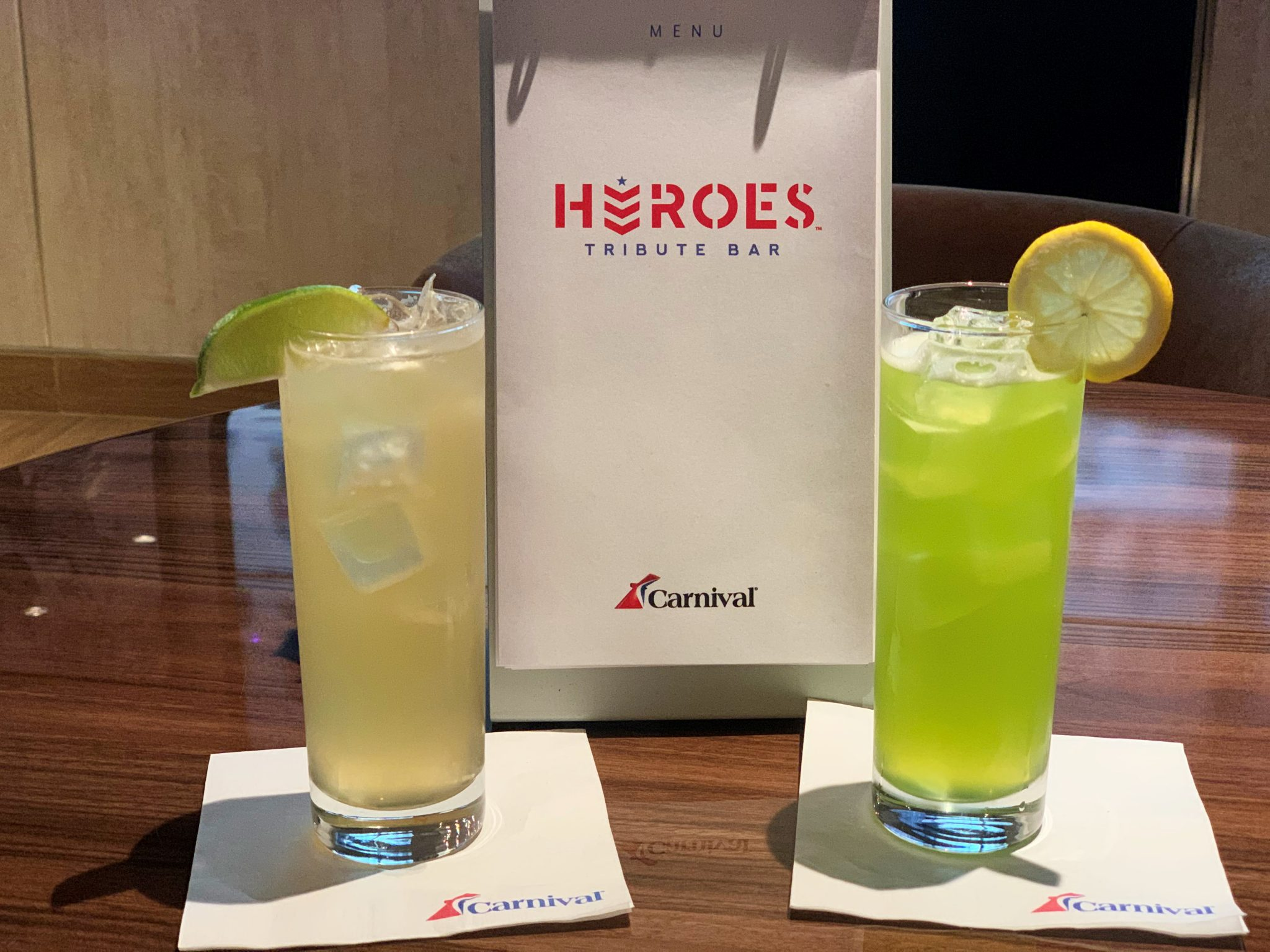 Carnival Cruise Line Beverage Packages