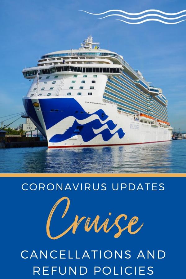 Cruise Cancellations due to Coronavirus