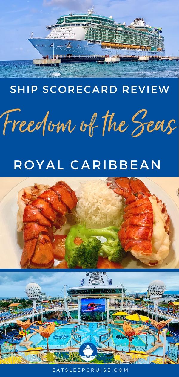 Freedom of the Seas Ship Scorecard Review