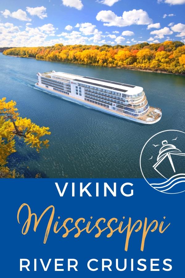 Details on Viking's New Mississippi River Cruises