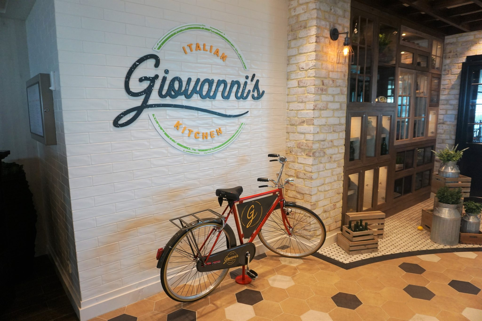 Giovanni's Italian Kitchen on Freedom of the Seas