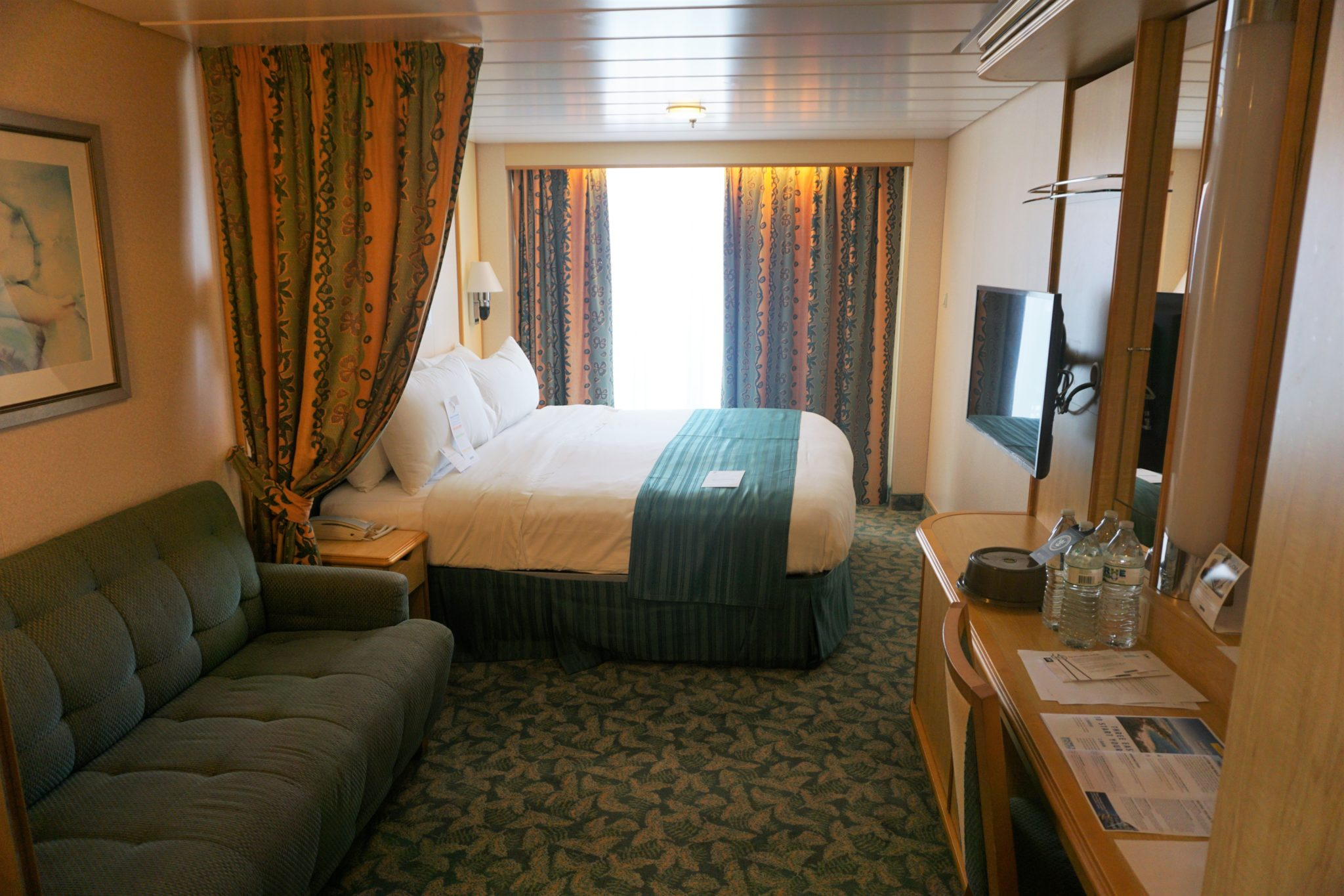 Freedom of the Seas Ocean View Balcony Review
