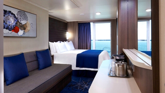 NCL Club Balcony Suites