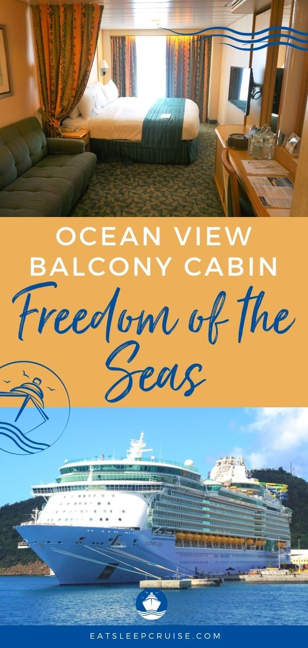 Review of Freedom of the Seas Ocean View Balcony Cabin