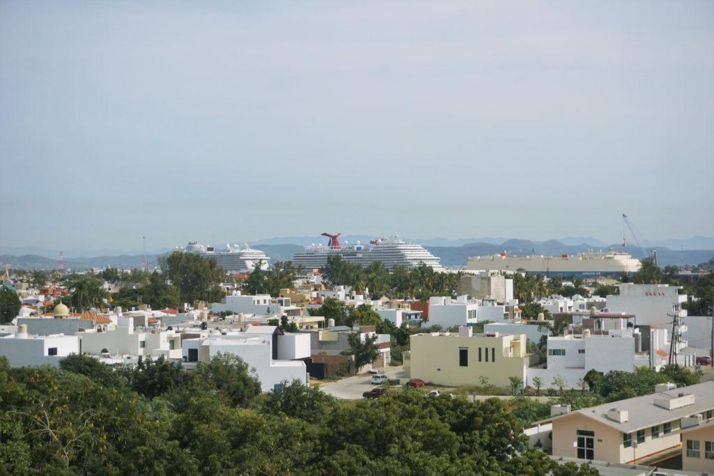View from Lookout Hill in Mazatlan