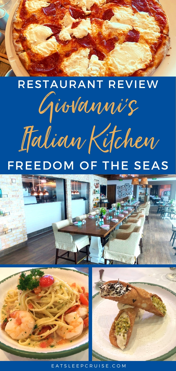 Giovannis Italian Kitchen on Freedom of the Seas