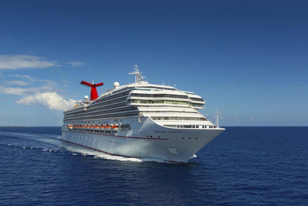 Cruise News July 24th - Carnival Sunrise