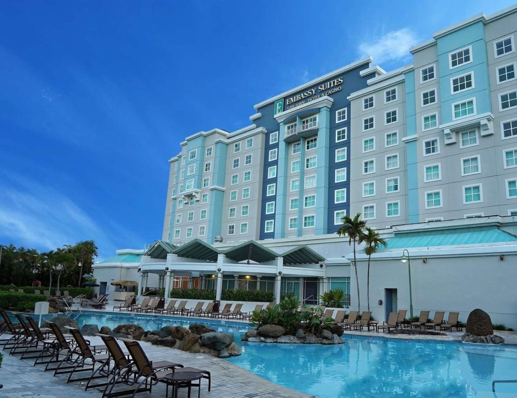 Embassy Suites One of the Best Hotels Near the San Juan Cruise Port in Puerto Rico