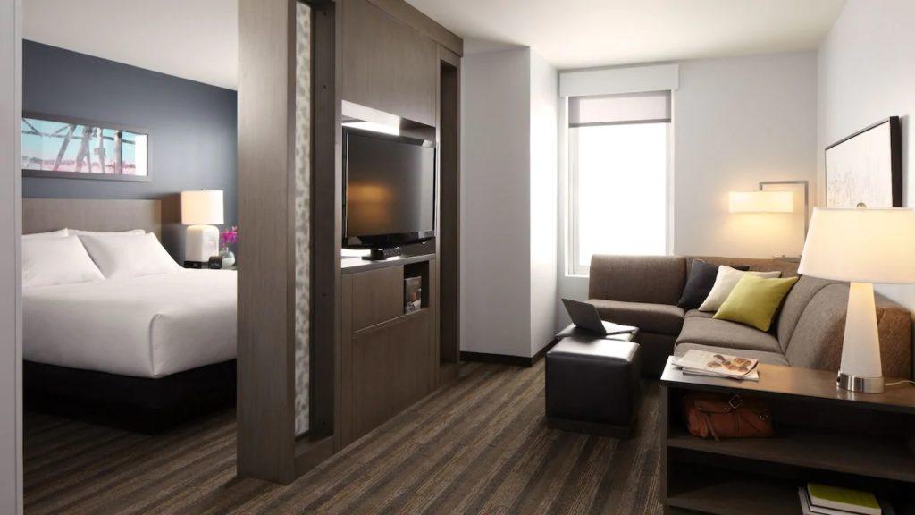 King Room at Hyatt House San Juan
