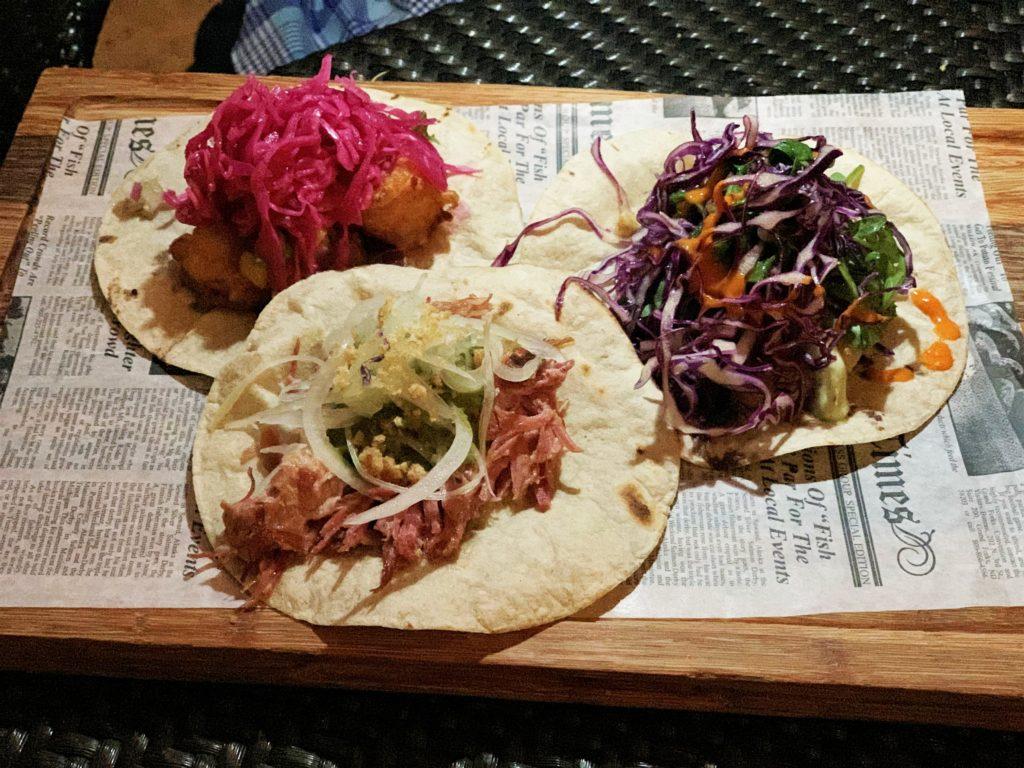 Tacos and Tequilas at Condado Vanderbilt Hotel in San Juan