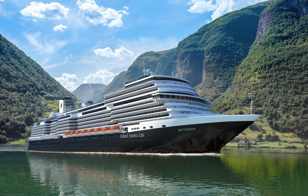 Holland America Line Takes Delivery of Rotterdam   Eat Sleep Cruise