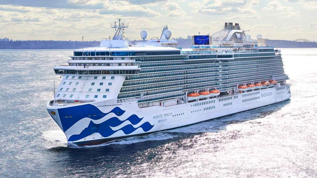 Majestic Princess Repositioning Cruise News July 12th