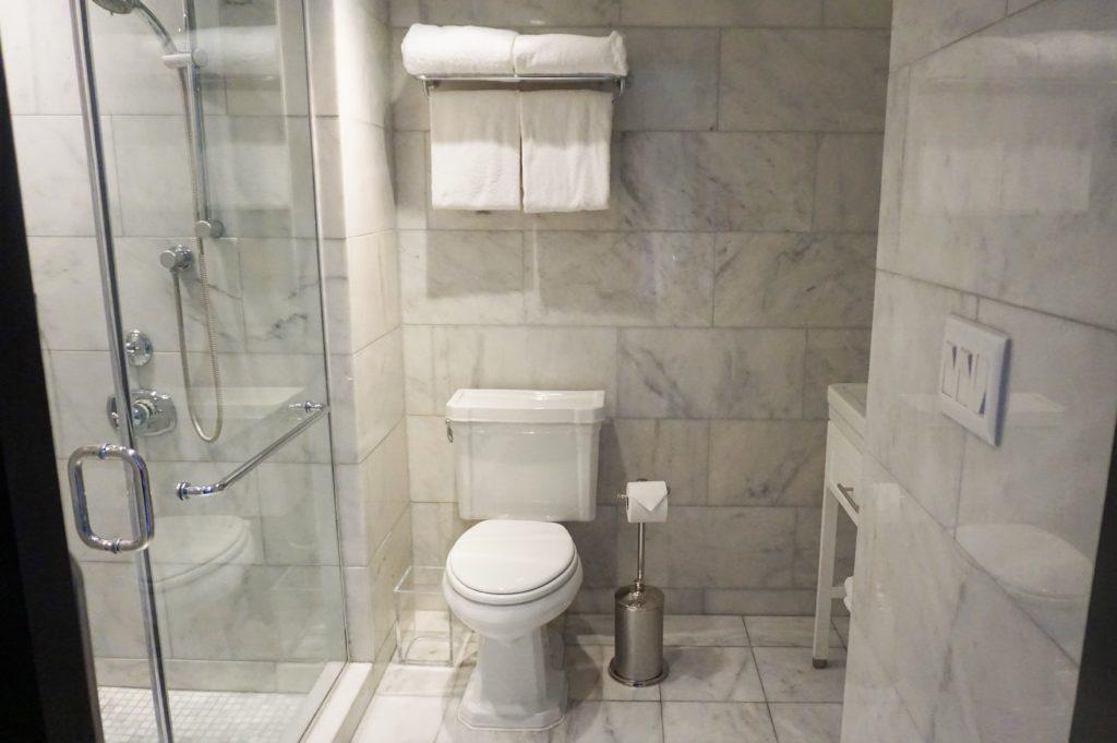 Marble Bathroom in Condado Vanderbilt Hotel