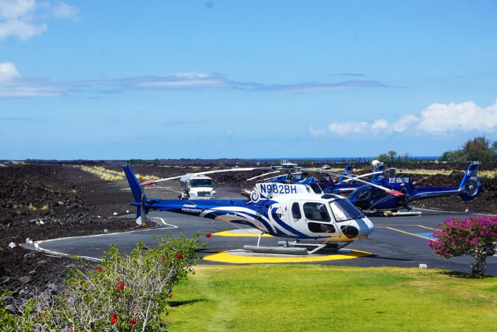 Eco star Helicopters from Blue Hawaiian Big Island Specactular Tour Review