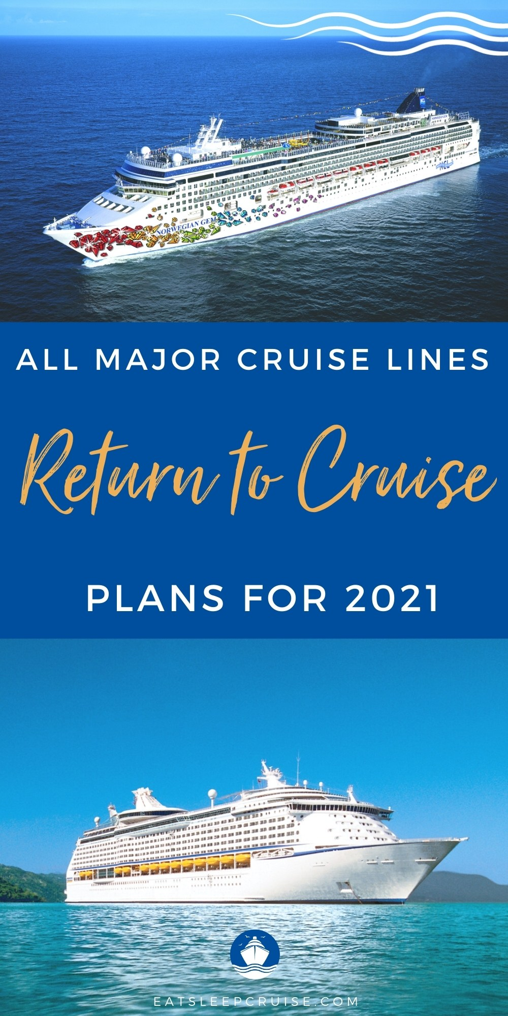cruise lines' return to cruise plans for 2021