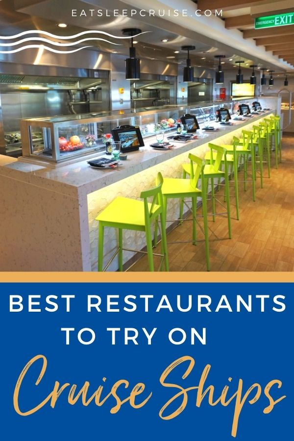 Best Cruise Ship Restaurants