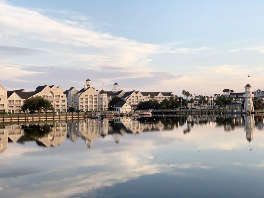 Disney Yacht Club at Walt Disney world 2021