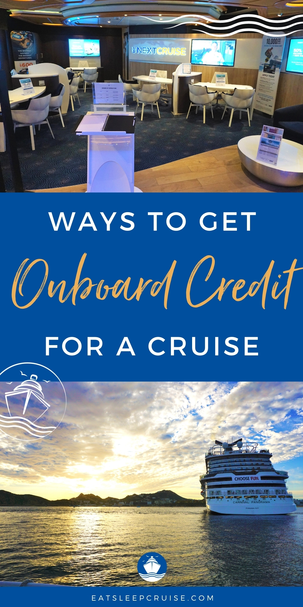 ways to score onboard credit