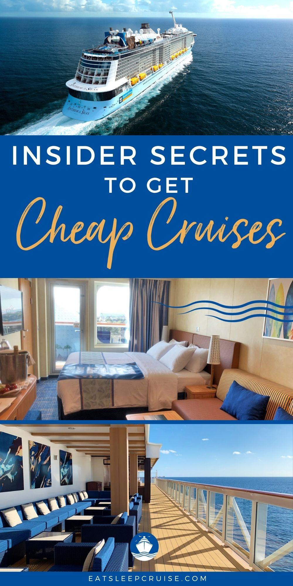 Guide to Scoring Cheap Cruises