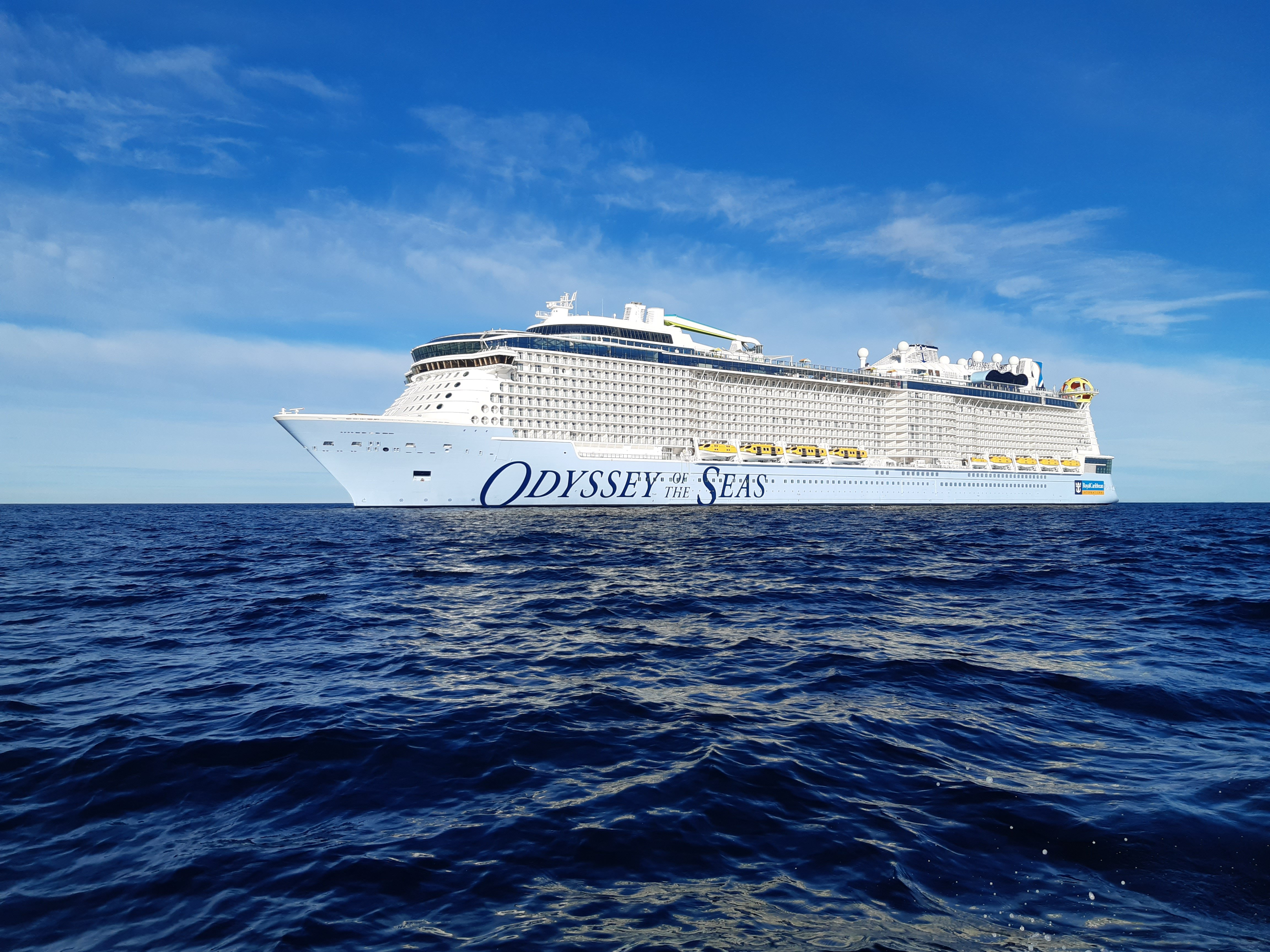 Royal Caribbean Welcomes of Odyssey of the Seas