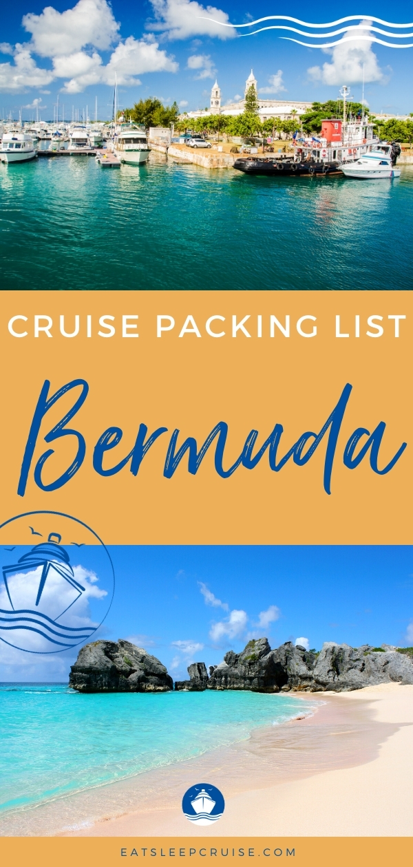 Bermuda Cruise Packing List